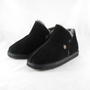 Warmbat Willow Pantoffel Zwart