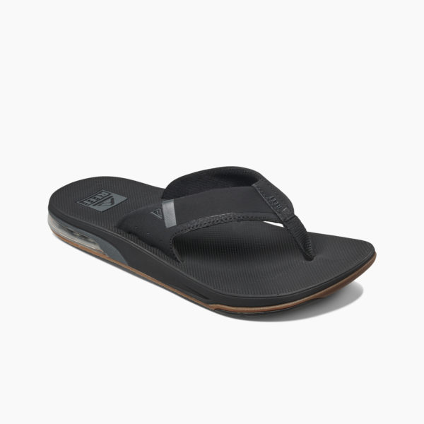 Reef Slipper Fanning Low Zwart