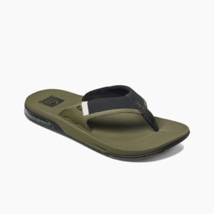 Reef Heren Fanning Low Olive