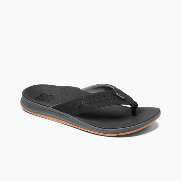 Reef Slipper Ortho Bounce Coast Zwart