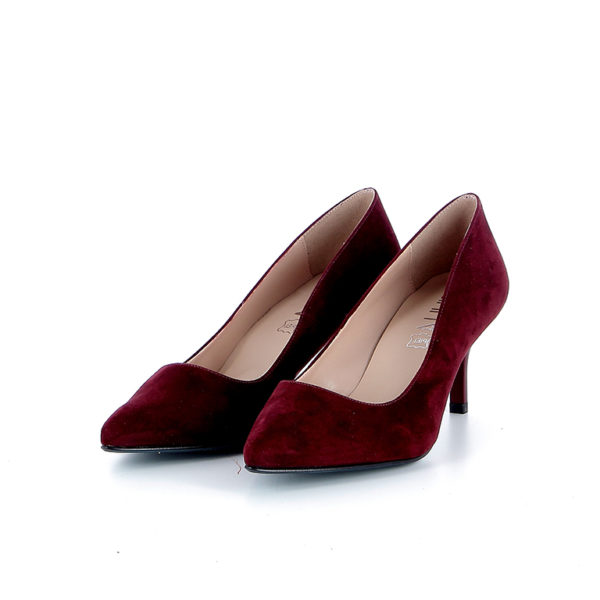 Giulia 5 Pump Bordeaux Suede
