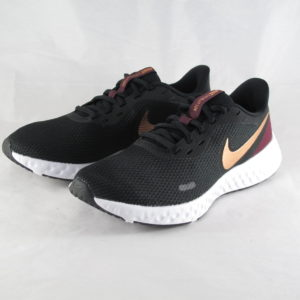Nike Sneaker Revolution 5 Black Copper Metallic