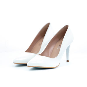 Giulia 8 Pumps Lak Wit