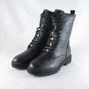 Mexx Dames Flux Veterboot Zwart