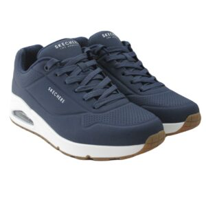 Skechers Heren 52458 NVY Stand on Air Blauw